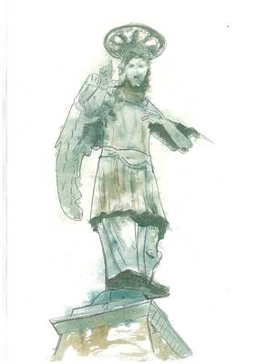 St. Michael From Piran Poster