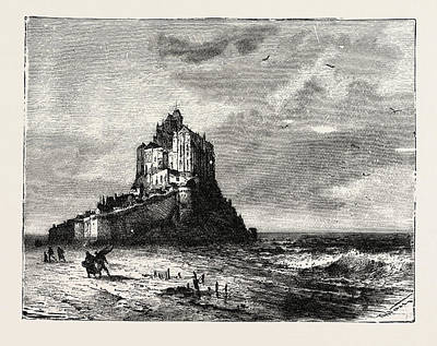 St. Michaels Mount And Bay Poster by English School