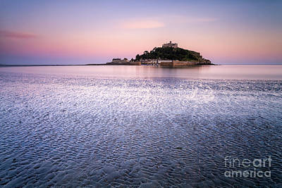 St Michaels Mount Cornwall Poster