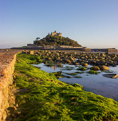 St Michael's Mount Poster by Martin Newman
