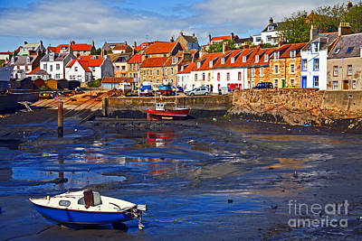 Poster featuring the photograph St Monans Fife by Craig B