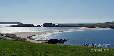 St Ninian's Isle Shetland Poster by Lynn Bolt