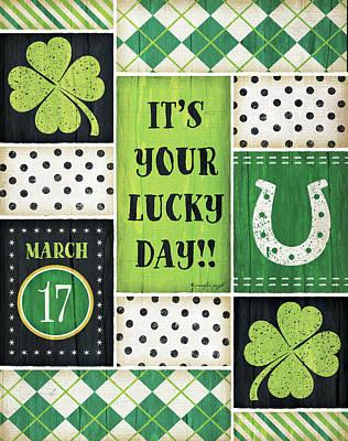 St. Patrick's Poster by Jennifer Pugh