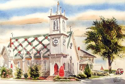 St. Pauls Episcopal Church II Poster by Kip DeVore