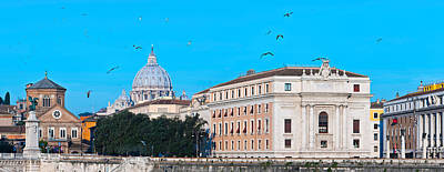St. Peters Basilica In Vatican City Poster by Panoramic Images