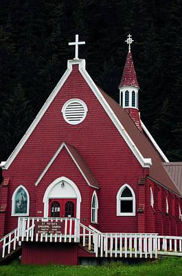 St Peter's Episcopal Church, Seward Poster