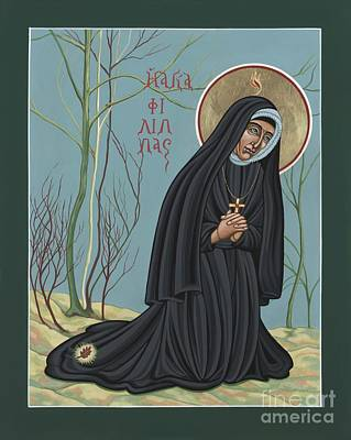 Poster featuring the painting St. Philippine Duchesne 259 by William Hart McNichols