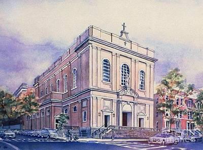 St Saviors Church  Poster
