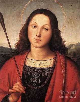 St Sebastian Poster by Celestial Images