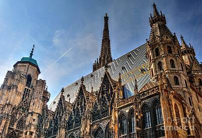Poster featuring the photograph St. Stephen's Cathedral by Joe  Ng