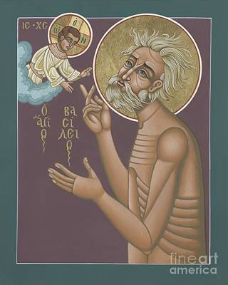 Poster featuring the painting St. Vasily The Holy Fool 246 by William Hart McNichols