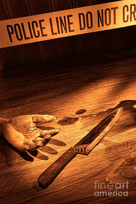 Stabbing Poster