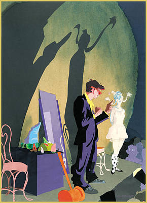 Stage  Poster by Clifford Faust