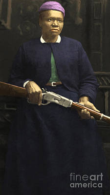 Stagecoach Mary Fields 20130518 Vertical Poster by Wingsdomain Art and Photography