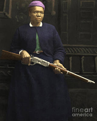 Stagecoach Mary Fields 20130518 Poster by Wingsdomain Art and Photography