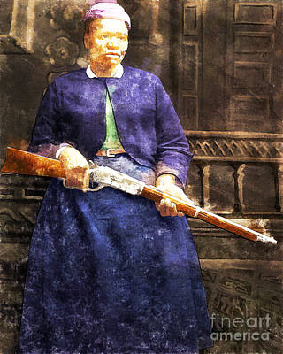 Stagecoach Mary Fields 20130518wc Poster by Wingsdomain Art and Photography