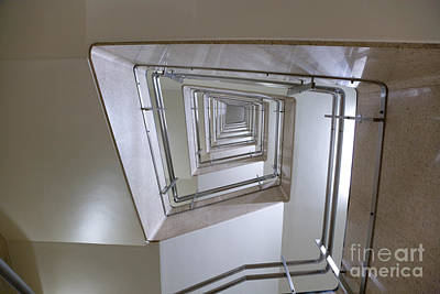 Staircase Poster by Oote Boe