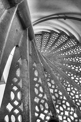 Stairs At Point Iroquois Lighthouse Poster by Twenty Two North Photography