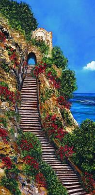 Stairway To Heaven Poster by Peta Carley