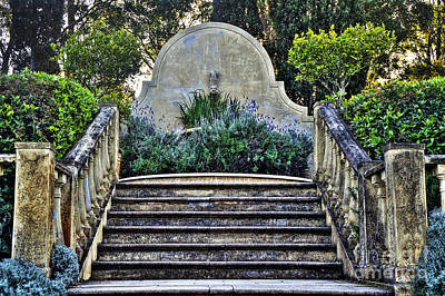 Stairway To Nowhere Poster by Kaye Menner