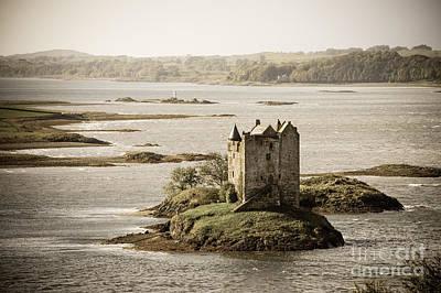 Stalker Castle Vintage Poster by Jane Rix