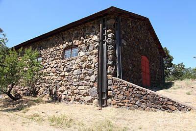 Stallion Barn At Historic Jack London Ranch In Glen Ellen Sonoma California 5d24580 Poster
