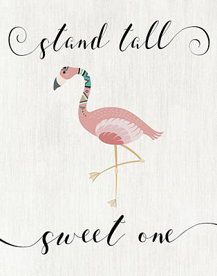 Stand Tall Sweet One Poster