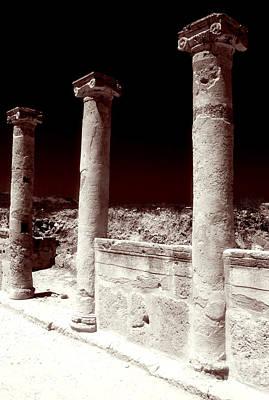 Standing Columns Poster