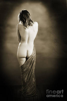 Standing Nude 6191.1 Poster