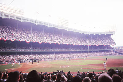 Stands View Of Yankee Stadium Poster