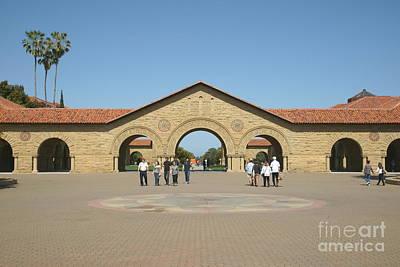Stanford University Main Quad Palo Alto California Dsc632 Poster