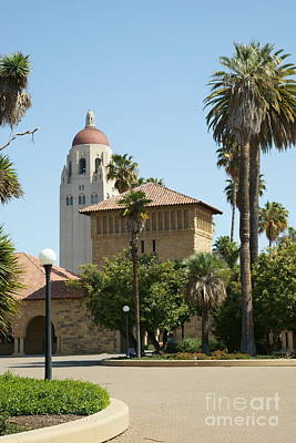 Stanford University Palo Alto California Hoover Tower Dsc622 Poster