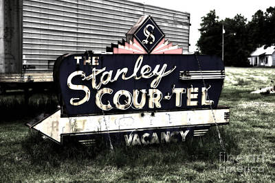 Stanley Court Poster by John Rizzuto