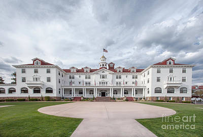 Stanley Hotel Estes Park Poster by Kay Pickens