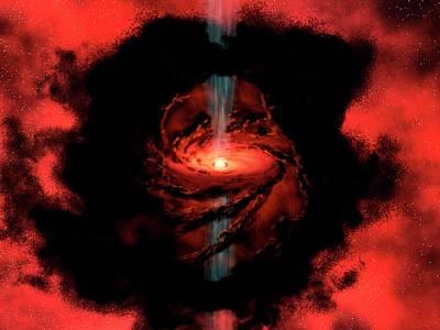 Star Formation Poster by Nasa / Jpl-caltech / R. Hurt (ssc