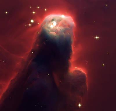 Star Former Cone Nebula Poster