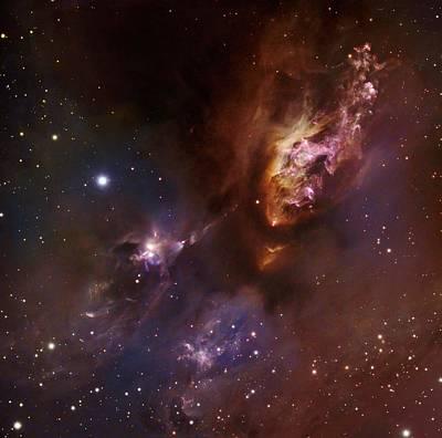 Star-forming Region Ldn 1551 In Taurus Poster