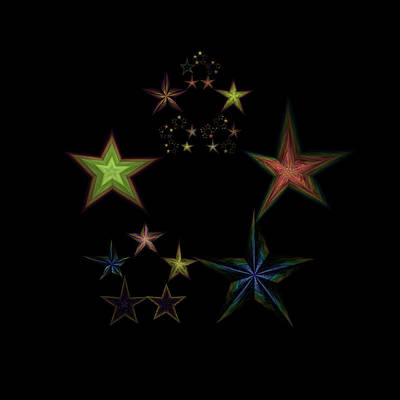 Star Of Stars 01 Poster by Sora Neva