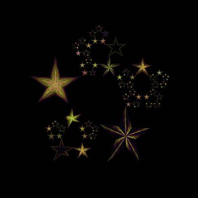 Star Of Stars 07 Poster by Sora Neva