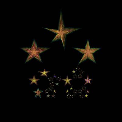 Star Of Stars 10 Poster by Sora Neva