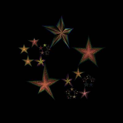 Star Of Stars 12 Poster by Sora Neva