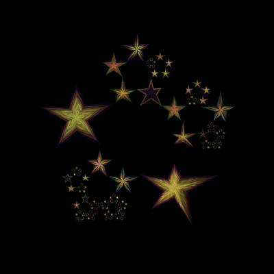 Star Of Stars 15 Poster by Sora Neva