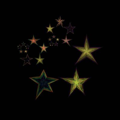 Star Of Stars 16 Poster by Sora Neva
