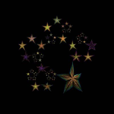 Star Of Stars 17 Poster by Sora Neva
