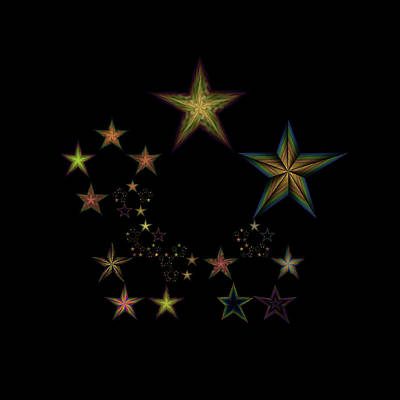 Star Of Stars 18 Poster by Sora Neva
