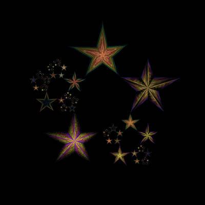 Star Of Stars 21 Poster by Sora Neva