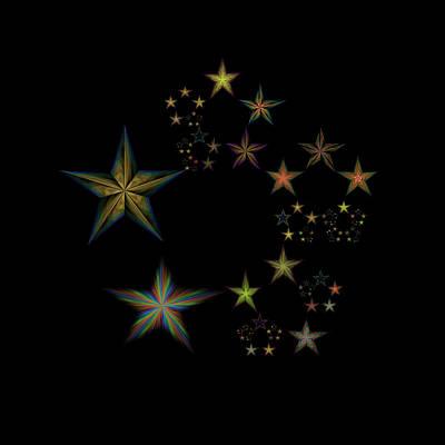 Star Of Stars 22 Poster by Sora Neva
