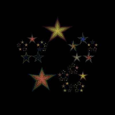 Star Of Stars 24 Poster by Sora Neva