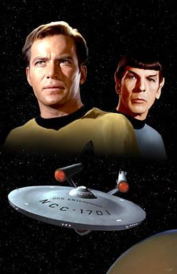 Star Trek - The Original Series Poster by Paul Tagliamonte