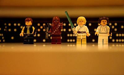 Star Wars Heros Poster